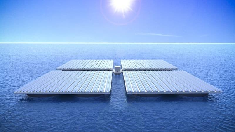 سولارهای شناور خورشیدی